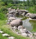 Дизайн и ландшафтные работы на речке